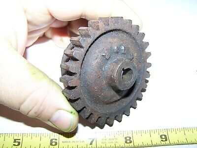 Old 1 12hp John Deere E Hit Miss Gas Engine Magneto Gear Steam Ignitor E76r