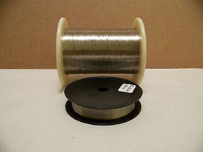 Pure Nickel Wire Non Resistance Wire  34 Awg 100 Ft