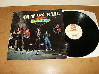 LEGS DIAMOND : OUT ON BAIL - HOLLAND LP 1985 - MUSIC FOR NATIONS RR 9767