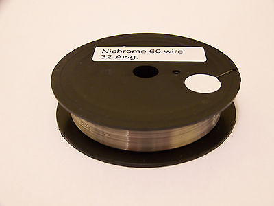 Resistance Heating Wire Nichrome 32 Awg 100 Ft