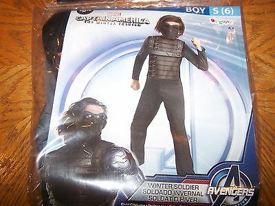 New Captain America The Winter Soldier Avengers Halloween Costume Boys Small (6)](The Winter Soldier Halloween Costume)