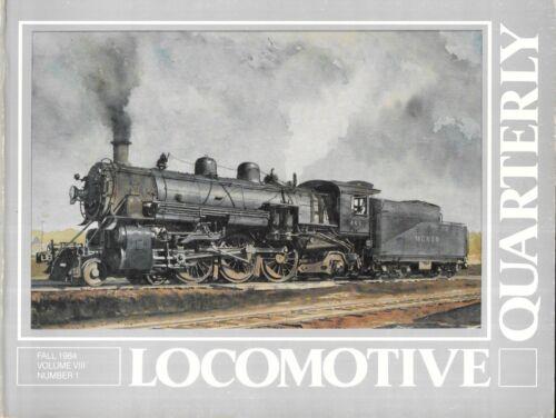 Locomotive Quarterly Fall 84 Monon CI&L Chicago Duel Gauge Rio Grande D&RGW