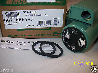 Taco Model 007 Hbf5-j Cast Iron Bronze Cartridge Circulator Pump - 125 Hp New