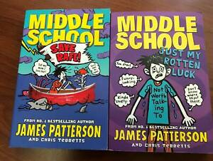 2 Middle School Books by James Patterson