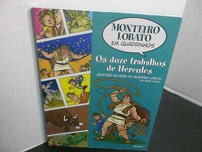 MONTEIRO LOBATO EM QUADRINHOS Os doze trabalhos de Hércules, usado comprar usado  Enviando para Brazil