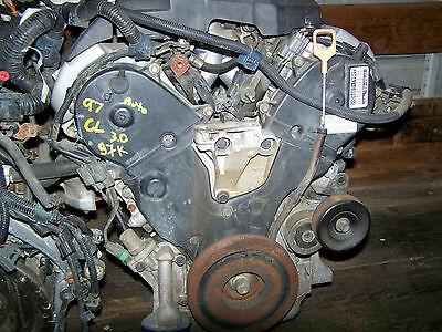 97-99 Acura CL Engine Motor 3.0 V6 97kmi OEM 3.0CL J30A1 1997 1998 1999 1999 Acura Cl Engine Motor