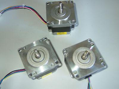 3 Nema 23 Stepper Motors -cnc Mill Lathe Robot Reprap Taig Lathe Power Feed .