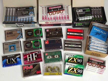 ★ Brand New Blank Audio Cassette Tapes from $10