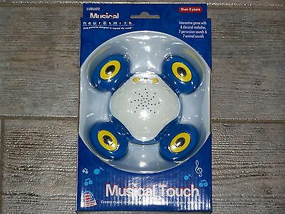 SMALL WORLD TOYS NEUROSMITH MUSICAL TOUCH INTERACTIVE GAME W/SOUND MELODIES