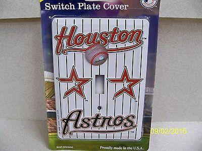 MLB licensed Houston Astros baseball metal single light swit