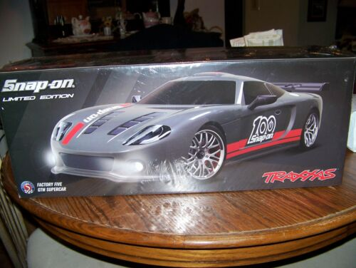 traxxas GTM Super Car  Limited Edition Snap On Factory Five rc parts supermaxx