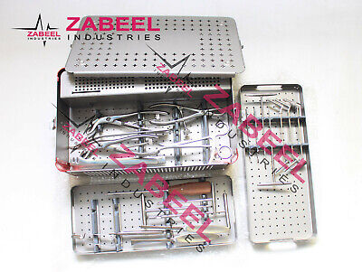 Small Fragment Instruments Orthopedic Medical Surgical Set With Box Zabeel