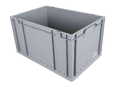 Palette Euroboxen 24 Stück 600 x 400 x 320 mm + Deckel Eurokiste Allit 456814