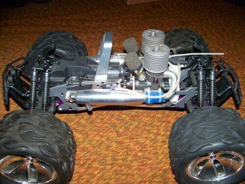 traxxas losi ofna hpi Vintage savage big twin engine truckzilla hotbodies 3.5