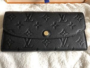 Louis Vuitton Emilie in Black Empriente Monogram