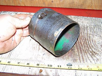 Cast Iron Belt Pulley Hit Miss Gas Engine Motor Steam Magneto Pump 1 38 Bore