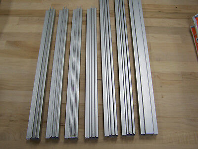 8020 Inc Quick Frame 1x1 Right Angle And Straight Double Flange 7 Piece Lot