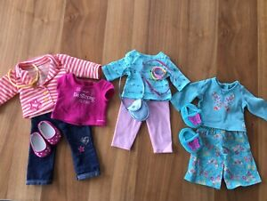 American Girl Doll clothes (butterfly slippers set)