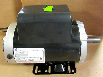 Century B386 Air Compressor Electric Motor 5hp 3450 Rpm