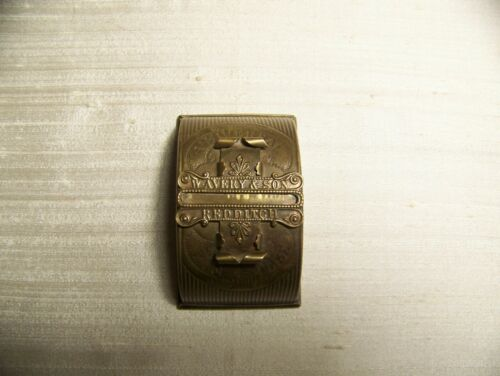 W. AVERY & SON PIN CASE