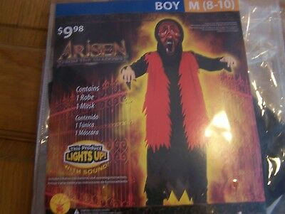 New Light Up!! Arisen from the Shadows Horror Halloween Costume Boys Medium - Boy From Up Costume