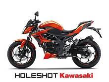 2015 Kawasaki Z250 Motorcycle (in Candy Burnt Orange) Berrimah Darwin City Preview