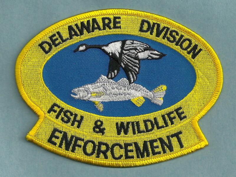 DELAWARE DIVISION OF FISH & WILDLIFE ENFORCEMENT SHOULDER PATCH