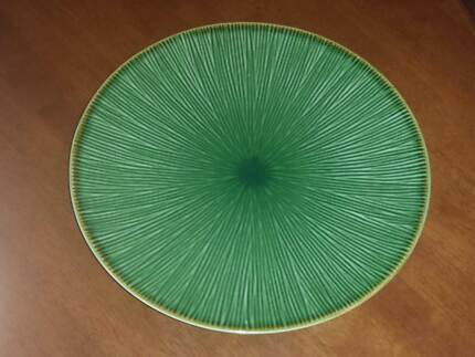 """DINNER PLATES FREEDOM GREEN """"BAMBOO"""" DESIGN 30CM Newport Pittwater Area Preview"""