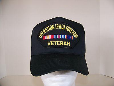 #1674 Operation Iraqi Freedom Veteran Ballcap Cap Hat