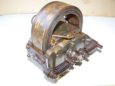 Old Webster K Brass 2 Bar Hit Miss Gas Engine Magneto Oiler Steam Tractor Hot