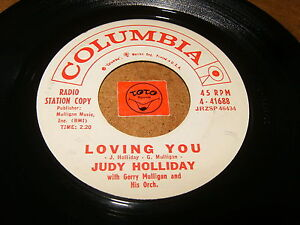 JUDY-HOLLIDAY-LOVING-YOU-THE-PARTY-039-S-OVER-LISTEN-VOCAL-JAZZ