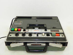 Vintage-Wollensak-3M-Model-2573-AV-Cassette-System-for-Projectors-tested