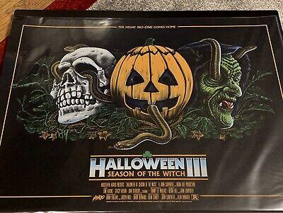 Gary Halloween (Gary Pullin Halloween 3 Season of the Witch AP 12x24 print MONDO)