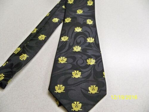 Scottish Rite, 32nd degree Mason, Masonic, Freemasonry, Fraternal, mens neck tie