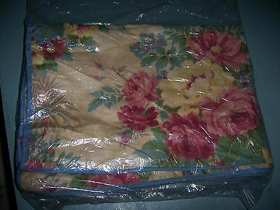 vintage new floral Roses cotton fabric cushion cover for chair wicker STOR-AID
