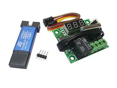 W1209 Stm8 Development Board Digital Temp Controller Relay Module St-link V2