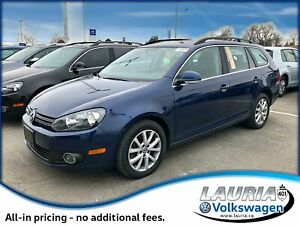 2014 Volkswagen Golf 2.0 TDI Wagon - 0% Financing Available!