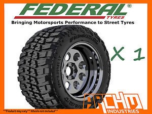 ONE-FEDERAL-COURAGIA-M-T-LT285-75R16-4X4-OFF-ROAD-MUD-TERRAIN-TYRE