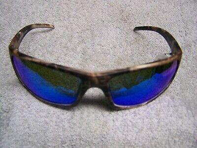 CALCUTTA PROWLER  TRUE TIMBER CAMO  BLUE MIRROR POLARIZED LENS SUNGLASSES (Camo Calcutta Sunglasses)