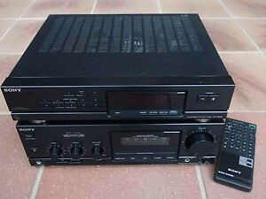 ★ SONY 120 Watt RMS Amplifier + matching FM/AM Tuner Robina Gold Coast South Preview