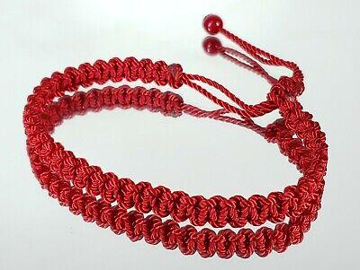 Good Luck Red String Braided bracelet -Fortune wristband -Evil Eye Protection ()