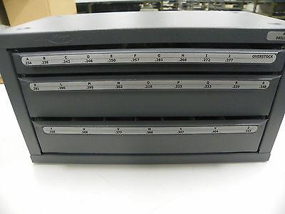 Huot 13050 A To Z Letter Drill Dispenser Jobber Length Tb101