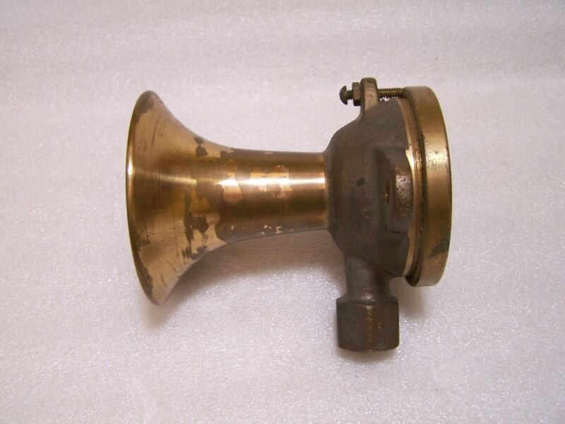 Cunningham Brass/Bronze Air Whistle Horn Size 1AS NOS and Working