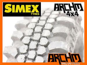 36/12.5/15 SIMEX EXTREME TREKKER 2 (THE CENTIPEDE) MUD TYRES-PICKUP BAYSWATER 37