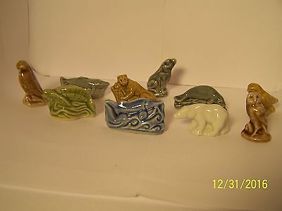 Wade Red Rose Tea Figurines Endangered North American Animals