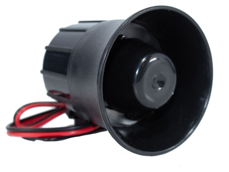6 tone Panic Siren Horn Alarm Security For All Car Truck Van Alarm Systems