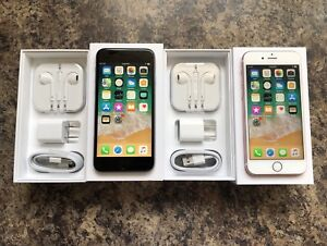 2 Unlocked 10/10 Condition iPhone 6s 16GB with Box & Accessories
