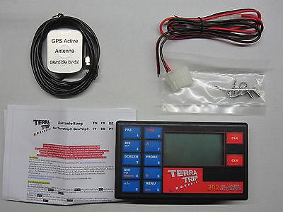 Terratrip 202 GeoTrip, Rallye Computer, GPS Wegstreckenzähler, Tripmaster