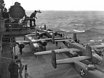 "USAAF North American Aviation B-25 Mitchell ((8.5""x11"")) Print"