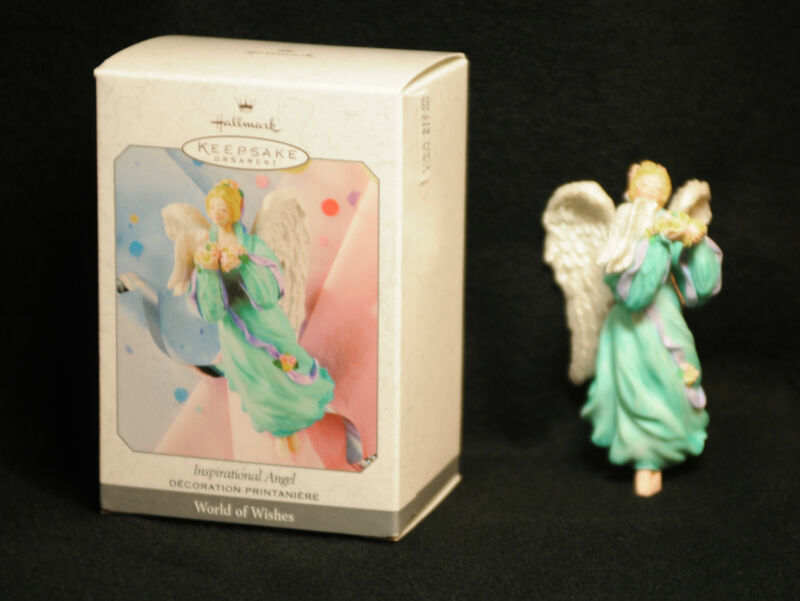 1999 Hallmark Inspirational Angel QE08347 Mint in mint box, NICE